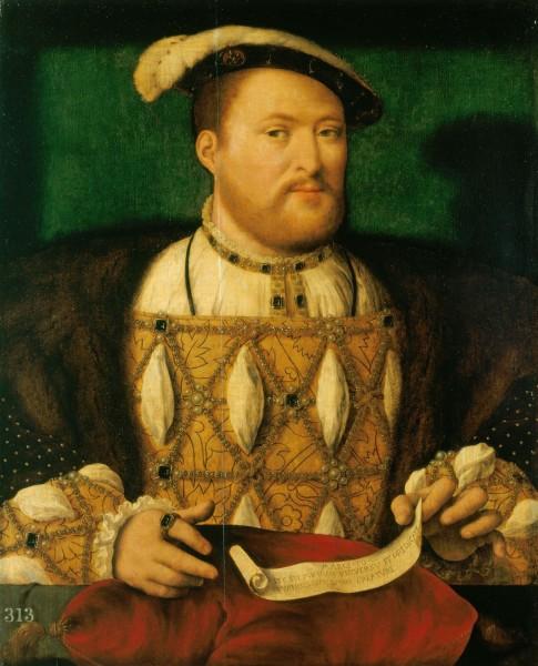 Джулио Медичи - папа римский Климент VII, портрет работы Себастьяно дель Пьомбо 1531 г.