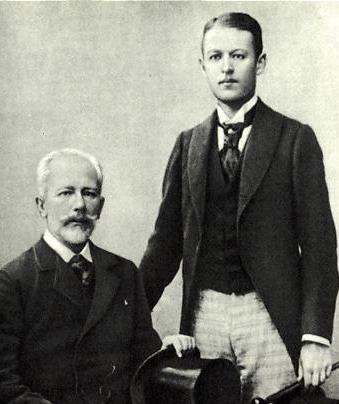 Петр Ильич Чайковский  и Боб Давыдов.
