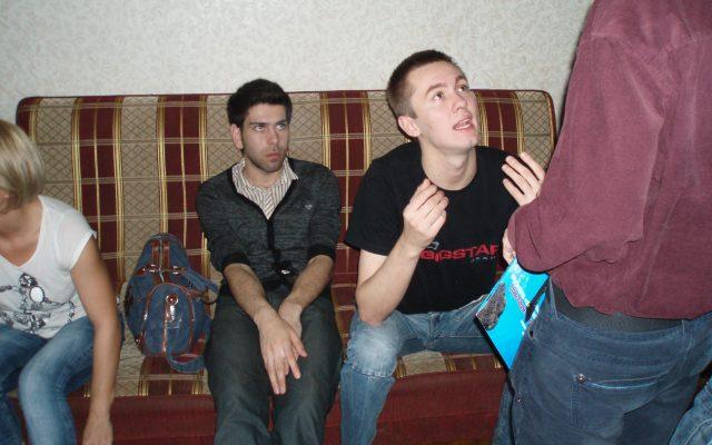 Два Сергея, Прадед и Андросенко с Анно Комаровым, - уточнение последних деталей...