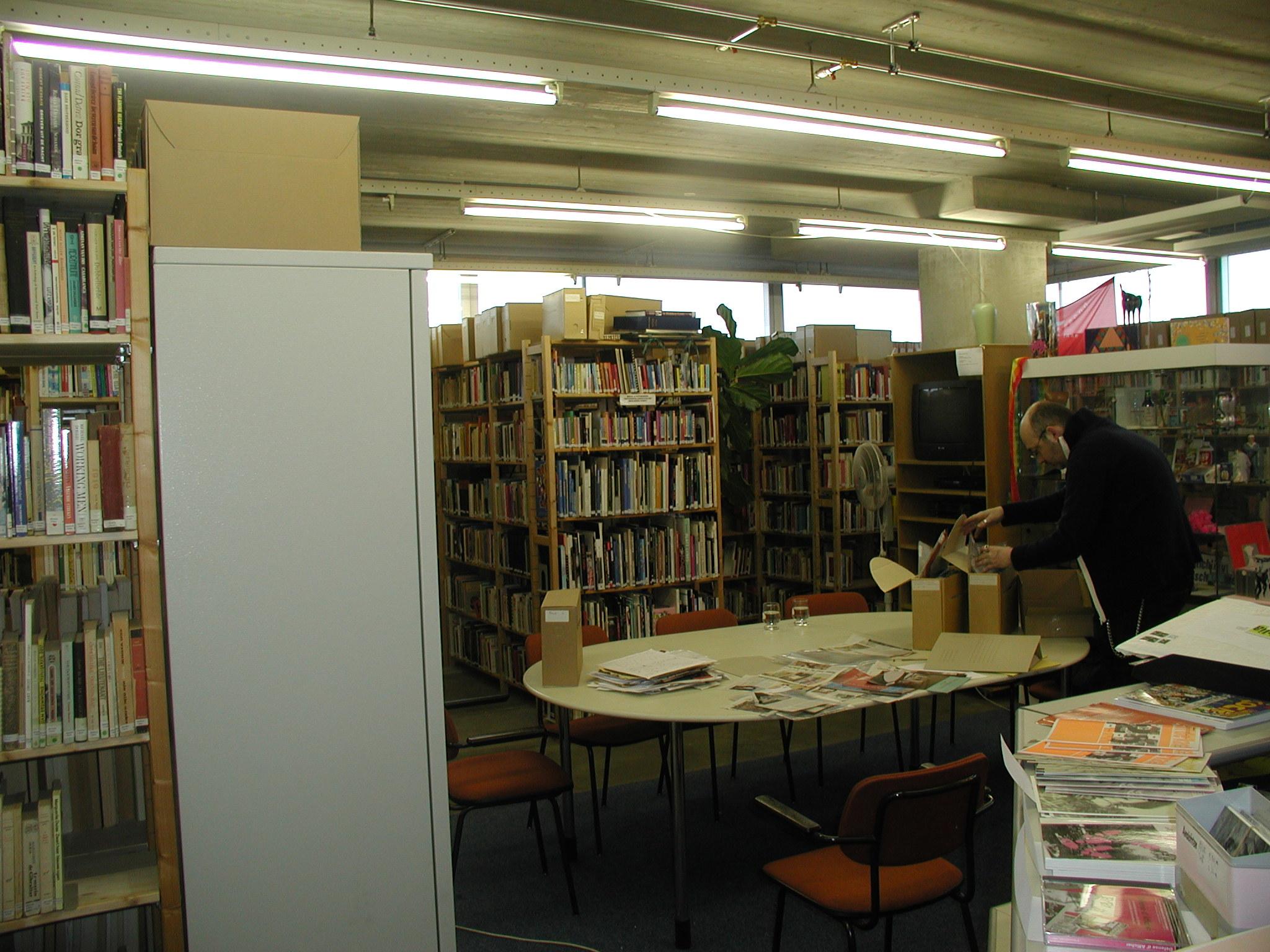Крупнейший в Европе ЛГБТ-архив HOMODOC (Амстердам, Нидерланды)